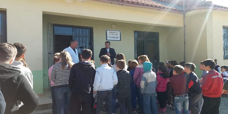 National Park Tomorri Mountain: 2nd meeting with pupils