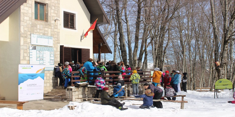 National Park Lovćen: the experts meet the pupils