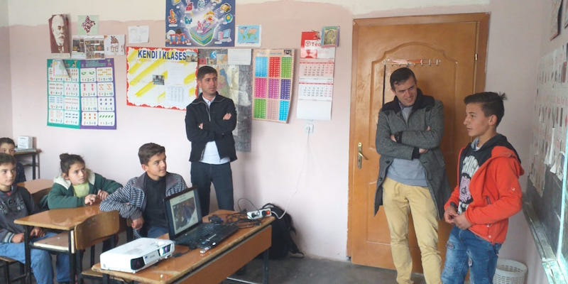 "National Park ""Tomorri Mountain"": 3rd meeting with pupils"